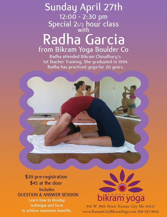 In Depth Class with Radha Garcia