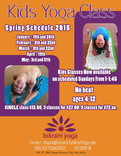 KIDS YOGA FLYER SPRING 2015 SCHEDULE (1)