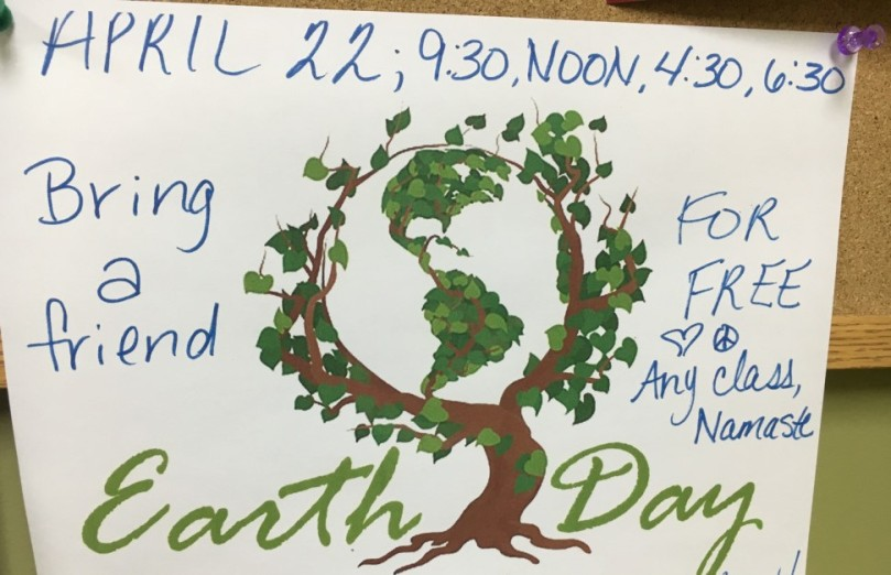 earth day yoga